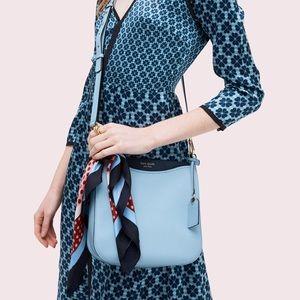 Kate Spade blue MARGAUX LARGE CROSSBODY BAG